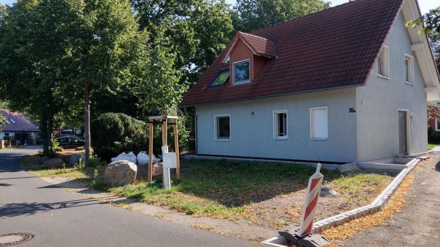 Vorgarten vor unserer Gestaltung in Cottbus